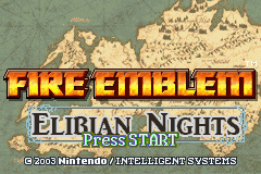 fire emblem elibian nights